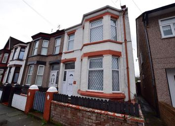 Thumbnail 4 bed semi-detached house for sale in Rosebery Avenue, Wallasey, Merseyside