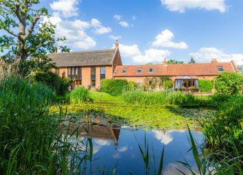 Thumbnail 4 bed barn conversion for sale in Field Lane, Blofield, Norwich