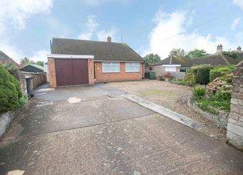 Thumbnail 2 bed detached bungalow for sale in Chapel Road, Weldon, Corby