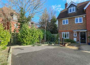 Thumbnail 4 bed end terrace house for sale in Jubilee Close, Horley