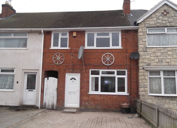 Thumbnail 3 bed terraced house to rent in Tiverton Avenue, Leicester
