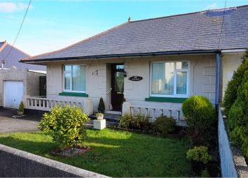 Thumbnail 2 bed semi-detached bungalow for sale in Victoria Road, St. Austell