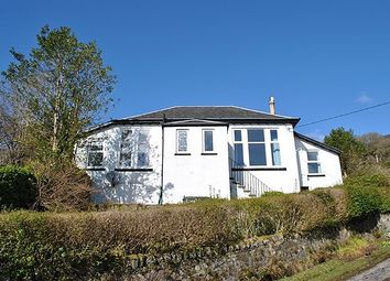 Thumbnail 3 bedroom bungalow for sale in Village Brae, Tighnabruaich, Argyll And Bute
