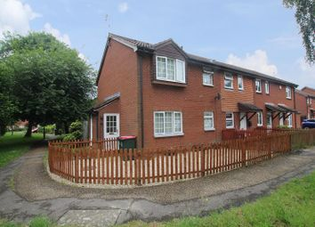 Thumbnail 1 bed end terrace house for sale in St. Aubin Close, Crawley, West Sussex.