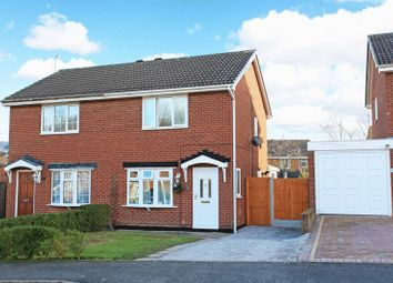 Thumbnail 2 bedroom semi-detached house for sale in Leveson Close, St Georges, Telford
