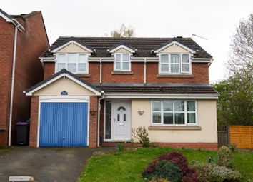 Thumbnail 4 bed detached house for sale in The Foxes, Sutton Hill, Telford