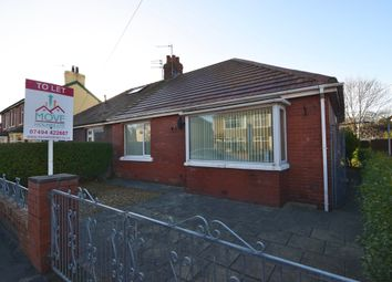 Thumbnail 3 bed semi-detached bungalow to rent in Farnworth Road, Thornton-Cleveleys