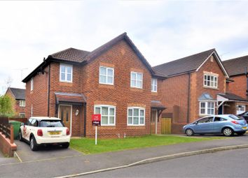 Thumbnail 3 bed semi-detached house for sale in Tegid Drive, New Broughton, Wrexham