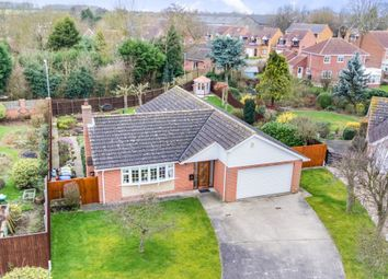 Thumbnail 3 bed detached bungalow for sale in Manor Farm Drive, Sturton By Stow, Lincoln