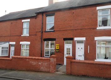 Thumbnail 2 bed terraced house for sale in Smithfield Road, Wrexham