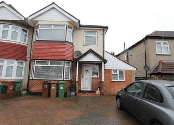 Thumbnail 4 bed semi-detached house for sale in Priory Avenue, North Cheam, Sutton