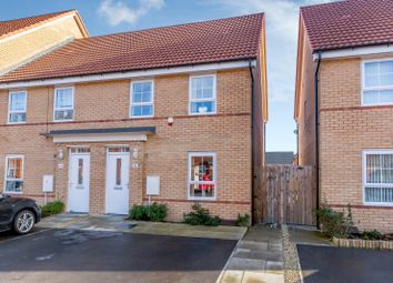 Thumbnail 3 bed semi-detached house for sale in Balne Mill Court, Wakefield
