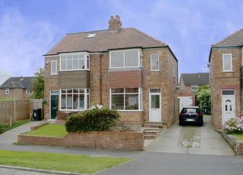 Thumbnail 2 bedroom semi-detached house for sale in Langholme Drive, York