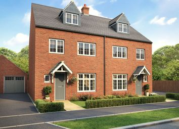 Thumbnail 4 bed semi-detached house for sale in Bloxham Vale, Bloxham Road, Banbury, Aylesbury