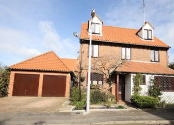Thumbnail 5 bed detached house for sale in Church Mead, Roydon, Harlow