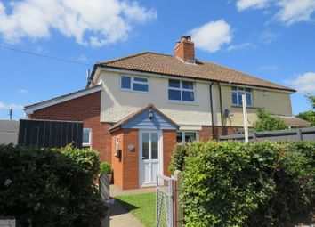 Thumbnail 3 bed semi-detached house for sale in Main Road, East Lyng, Taunton
