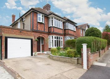 Thumbnail 3 bed semi-detached house to rent in Greenhill Avenue, Luton