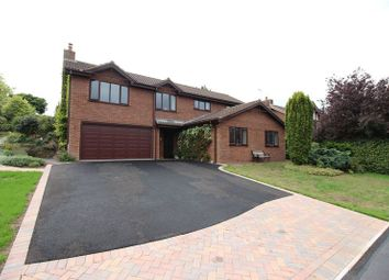 Thumbnail 5 bed detached house for sale in Cheddleton Park Avenue, Leek, Staffordshire