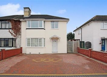 Thumbnail 3 bed semi-detached house for sale in Morello Avenue, Uxbridge, Middlesex