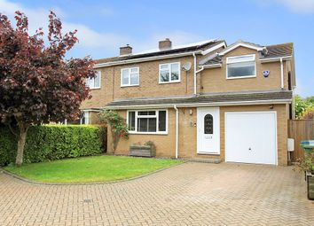 Thumbnail 4 bedroom semi-detached house for sale in Unwins Lane, Over, Cambridge