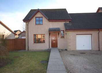 Thumbnail 3 bed semi-detached house to rent in Mcmillan Avenue, Elgin