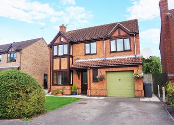 Thumbnail 4 bed detached house for sale in Foxfield Close, Skellingthorpe