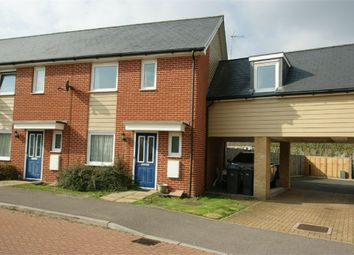 Thumbnail 4 bed end terrace house to rent in Newstead Way, Harlow