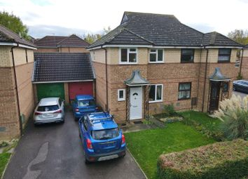 Thumbnail Semi-detached house for sale in Newbridge Oval, Emerson Valley, Milton Keynes