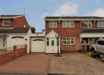 Thumbnail 3 bedroom semi-detached house for sale in Glenhurst Close, Briarsleigh, Walsall