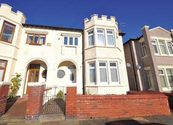 Thumbnail 4 bed semi-detached house for sale in Dalmorton Road, New Brighton, Wallasey