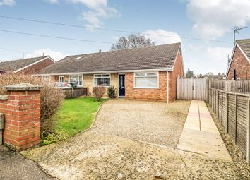 Thumbnail 2 bed semi-detached house for sale in Gowing Road, Hellesdon, Norwich