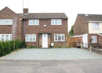 Thumbnail 2 bed semi-detached house for sale in Rosedale Crescent, Earley, Reading