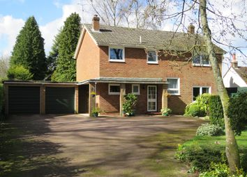 Thumbnail 4 bedroom detached house for sale in Whinwhistle Road, East Wellow, Romsey