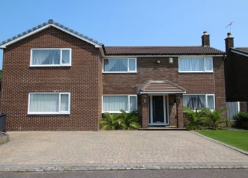 Thumbnail 4 bed detached house for sale in Eastleigh, Skelmersdale, Lancashire