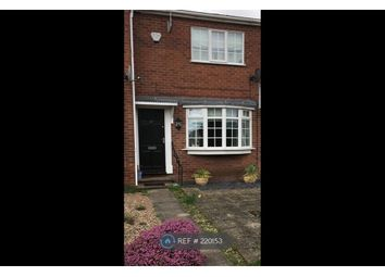 Thumbnail 2 bed terraced house to rent in Wymondham Close, Nottingham