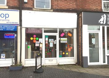 Thumbnail Retail premises for sale in Victoria Road, Nottingham