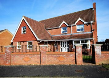 Thumbnail 5 bed detached house for sale in Braybrooks Way, Moulton Chapel, Spalding