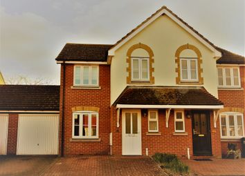 Thumbnail 3 bed semi-detached house for sale in Teescroft, Didcot