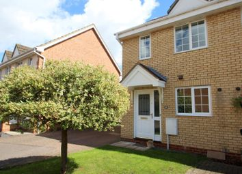 Thumbnail 2 bedroom semi-detached house to rent in Moat Way, Swavesey, Cambridge