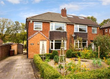 Thumbnail 3 bed semi-detached house for sale in Moseley Wood Gardens, Leeds