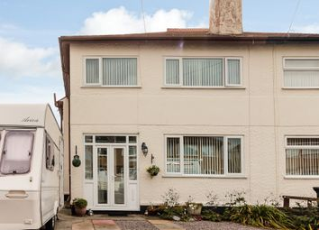 Thumbnail 3 bed semi-detached house for sale in Madryn Avenue, Rhyl