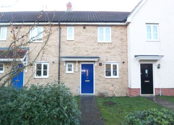 Thumbnail 2 bed terraced house to rent in Pennycress Drive, Wymondham