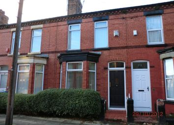 Thumbnail 3 bedroom terraced house to rent in Lidderdale Road, Wavertree, Liverpool