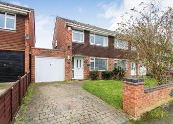 Thumbnail 3 bed semi-detached house for sale in Trent Crescent, Henwick, Thatcham