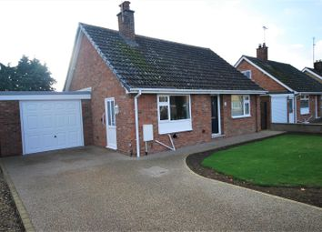 Thumbnail 2 bed detached bungalow for sale in Crown Drive, Spalding