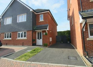 Thumbnail 3 bed semi-detached house for sale in Steeplechase Rise, Andover