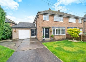 Thumbnail 3 bed semi-detached house for sale in Carver Drive, Dinnington, Sheffield