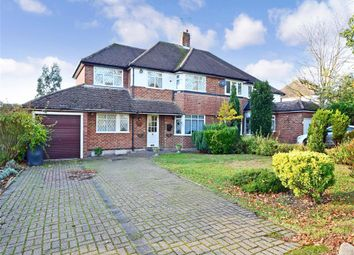 Thumbnail 4 bed semi-detached house for sale in Fencepiece Road, Chigwell, Essex