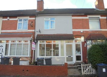 Thumbnail 3 bed terraced house to rent in Solihull Road, Sparkhill
