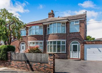Thumbnail 3 bed semi-detached house for sale in Leyburn Avenue, Stretford, Manchester